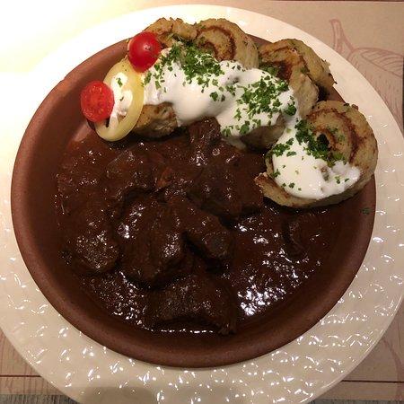 Alma & Körte Restaurant: Main dish