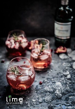 Lime Restaurant and Bar: TANQUERAY