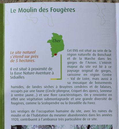 ENS - Les espaces naturels sensibles du Cher - Le moulin de Fougères à Sidiailles