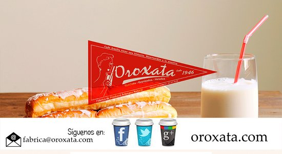 Oroxata - Artesanos de la Horchata en tu fabrica de siempre