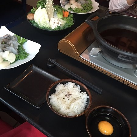 Sukiyaki was not worth the money