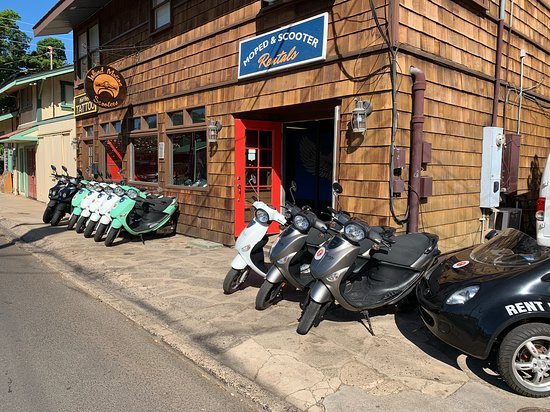 Island Motion Moped and Scooter Rentals