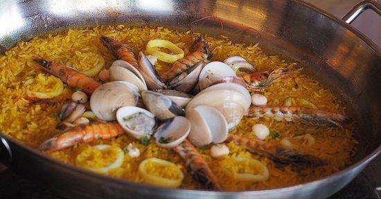 Seafood Paella ปาเอยา ข้าวผัดซีฟู้ด สไตล์สเปน