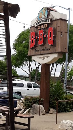 Big Bubba's Bad BBQ is in the heart of Paso Robles, on the 46, just off the 101.