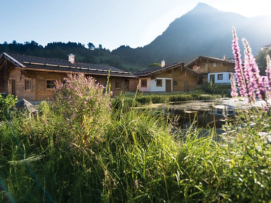Alpzitt Chalets im Dorf