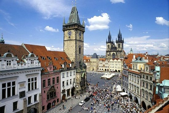 Recorrido de día completo por Praga...