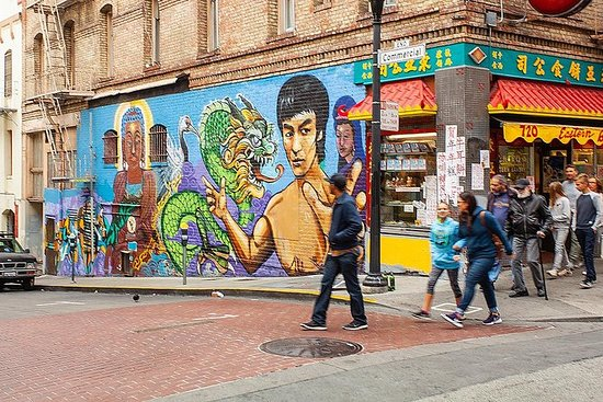 Excursão a pé a Chinatown em San...