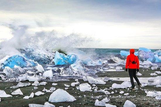 Tur til den sørlige kysten og isbreen...
