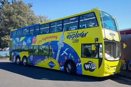 Auckland Hop-on Hop-off Tour + Ferry...