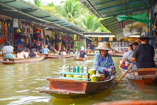 Floating Markets Day Trip from Bangkok