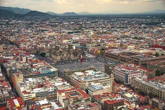 中墨西哥之旅6晚之旅:来自墨西哥城的特奥蒂瓦坎金字塔,塔斯科,库埃纳瓦卡和普...