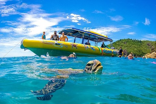 Tour in rafting a Whitehaven Beach