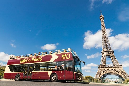 Tour Big Bus Hop On-Hop Off di Parigi