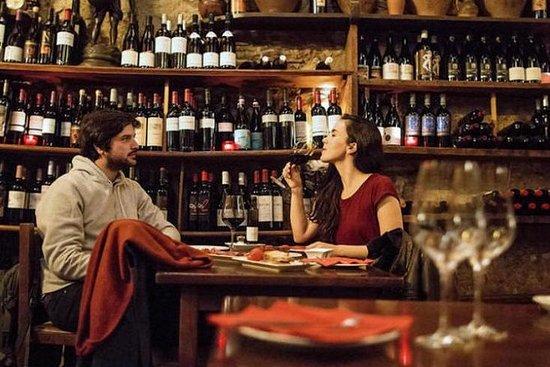Visita a pie de cata de vinos y tapas...