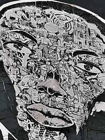 Fresque Jeune Black
