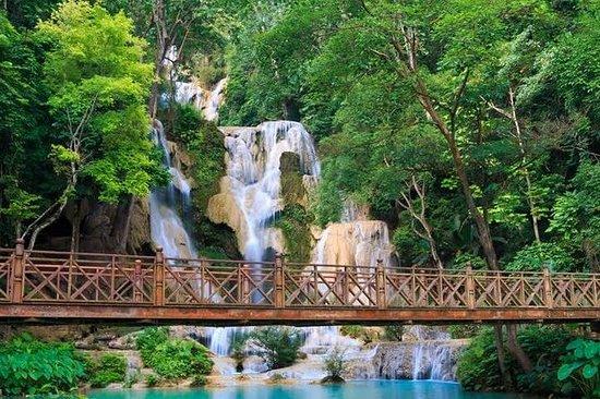 Half Day-Kuang Si Waterfalls