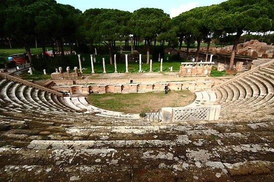 Visite privée d'Ostia Antica: de Rome...