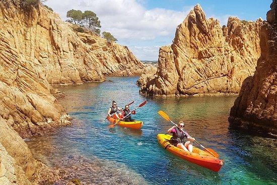 Kayak et saut en falaise sur la Costa...