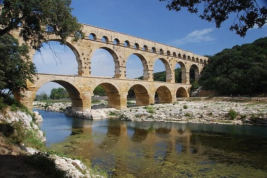 Full day Bike Ride Uzes, Pont du Gard...