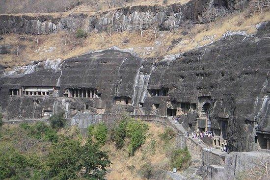 从孟买出发的奥兰加巴德,阿anta陀和埃洛拉洞穴之旅(3天)