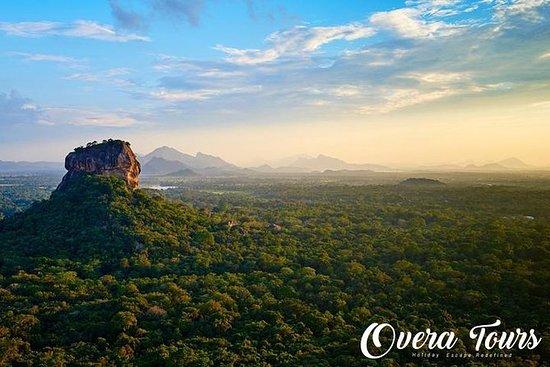 SIGIRIYA ROCK FORTRESS OG PIDURANGALA...