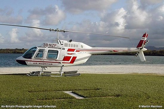 Helikoptertour - Unterwasserwasserfall