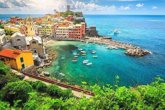 Pisa und die Cinque Terre vom Hafen...