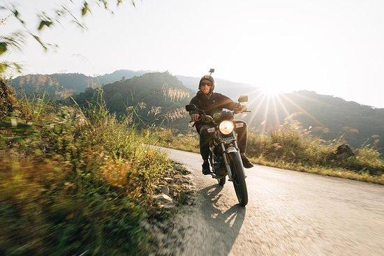 摩托车东环河江冒险