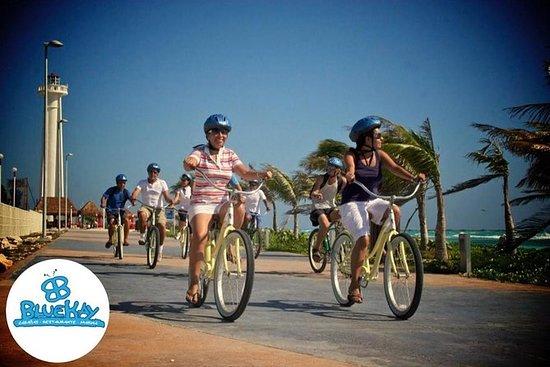 Excursion à vélo sur la Costa Maya et...