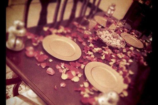 Dinner in an Emirati home