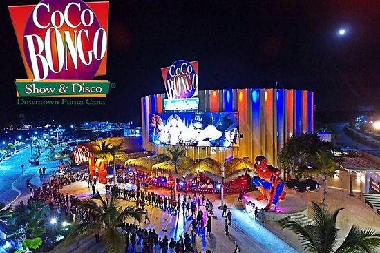 Coco Bongo disco show .. $ 69.00