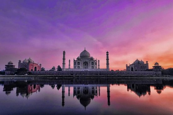 Samme dag Taj Mahal Tour