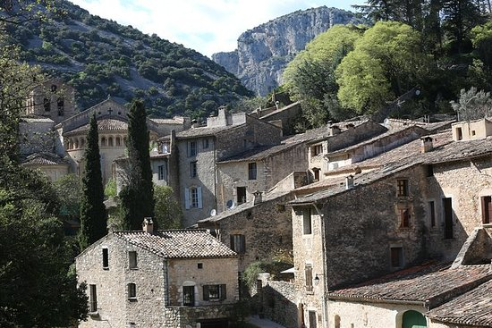 中世纪村庄,葡萄酒历史和自制食品