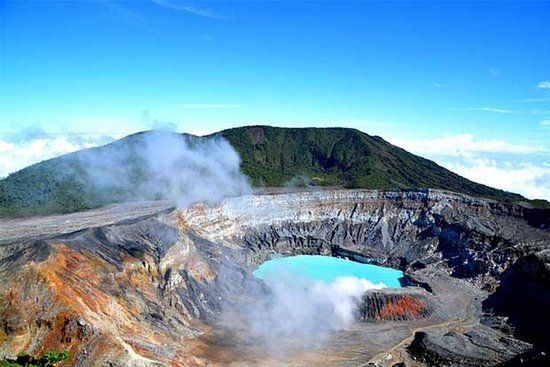 Volledige dag Tour een Volcan Poas ...