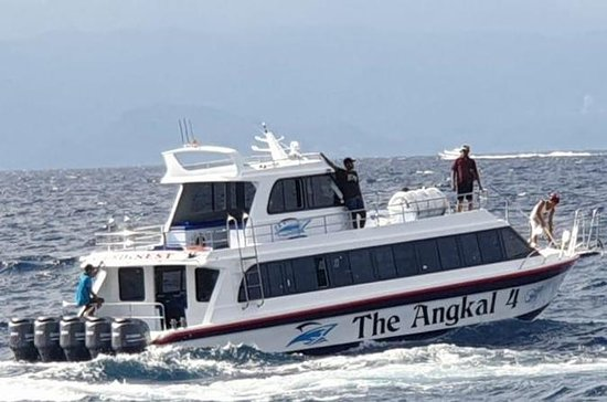 Tikcet Fast Boat Bali To Penida Island including Breakfast Pick up and Drop off