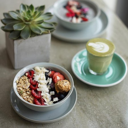 Start your day with our special Açaí bowl with our homemade granola & seasonal fruits