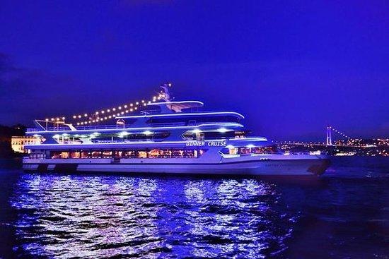 Bosphorus middag og showcruise (alt...