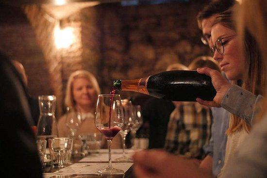 Wijnproeverij in een 19e-eeuwse ...