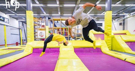 HopJump - trampolinovy park