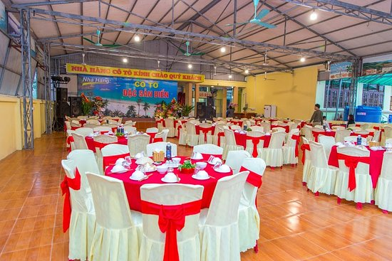 Thị Tran Co To, Vietnam: Sảnh nhà hàng