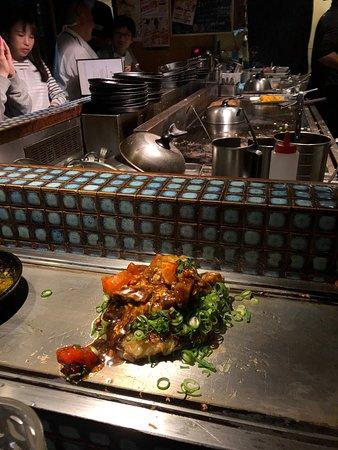 Great Teppanyaki and Okonomiyaki!