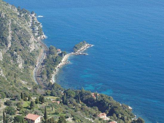 Monaco, Monte Carlo & Eze Medieval village: Vista mare
