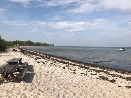 Hejlsminde, Denemarken: Sandersvig Strand - Strandvej