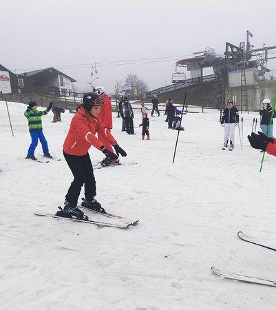 Neuastenberg, ألمانيا: Zelfs met bijna geen sneeuw is het op de Neuastenberg goed vertoeven!