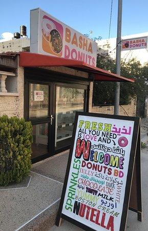 Jenin, Palestinian Territories: Basha Donuts interface