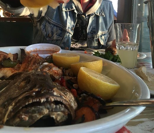 The Old Man and the Sea: Fish looks very sad but was delicious