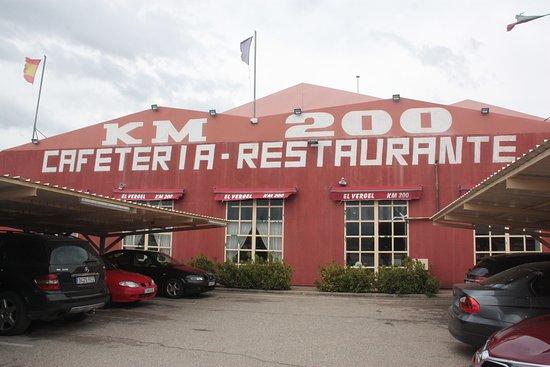 Restaurante El Vergel: Fachada principal del restaurante.