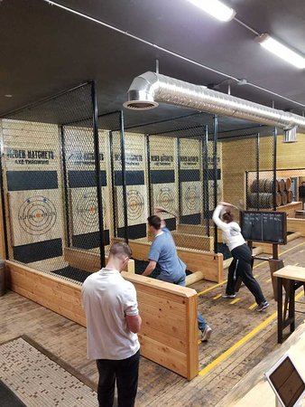 Heber Hatchets Axe Throwing - Pocatello