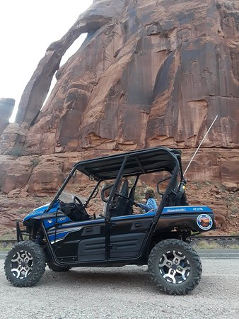 Moab Reservation Center: Scenic 4x4 tours