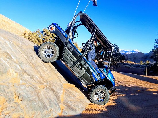 Moab Reservation Center: Hells Revenge U-Drive tours